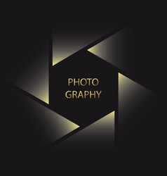 symbol for photographer vector image