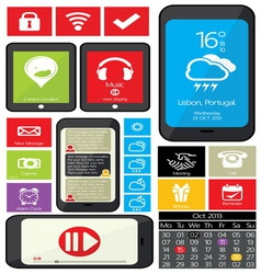web mobilni aplikacije1 vector image