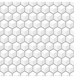 3d pattern seamless background vector