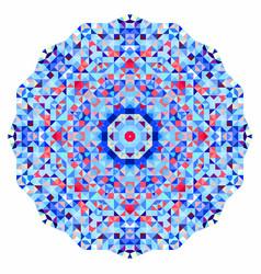 Abstract colorful circle backdrop vector