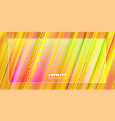 abstract gradient color background design vector image