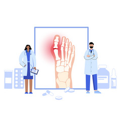 Arthritis poster concept vector