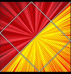 comic diagonal light background vector image