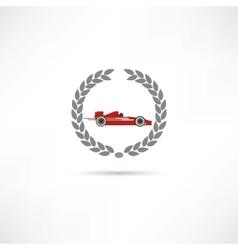 F1 icon vector