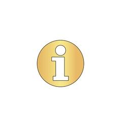 Information computer symbol vector