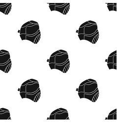 Paintball mask icon in black style isolated on vector