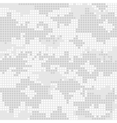 Urban camo pattern - gray pixels vector