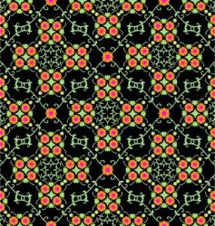 flowery vector image