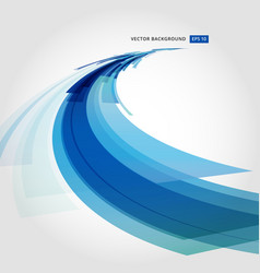abstract background element in blue and white vector image vector image