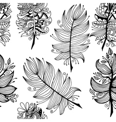 High quality original seamless pattern with vector image vector image