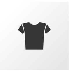 shirt icon symbol premium quality isolated casual vector image
