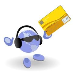 money world vector image vector image