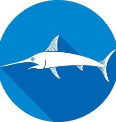 Swordfish Icon vector image vector image
