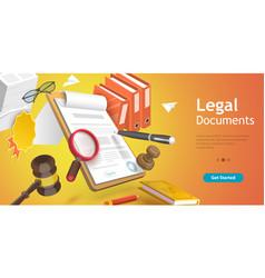 3d conceptual legal vector
