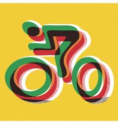Bicyclist vector