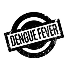 Dengue fever rubber stamp vector