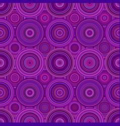 Geometrical abstract circle mosaic pattern vector