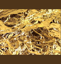 gold background gold metallic texture vector image