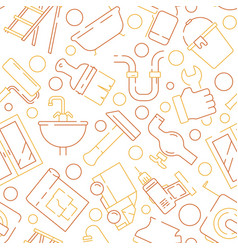 repair equipment pattern support service items vector image