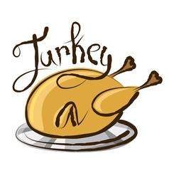 turkey vector image vector image