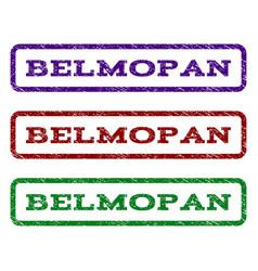 belmopan watermark stamp vector image