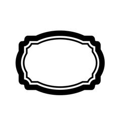 Black beautiful frame design vector