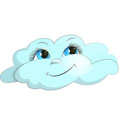 cloud joy vector image