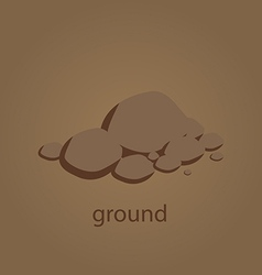 ground vector image