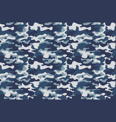 Horizontal banner seamless camouflage pattern vector