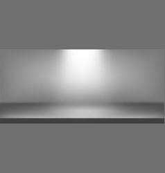 Illuminated scene background realistic vector