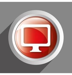 PC icon symbol design vector