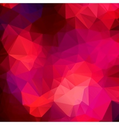 Pink purple abstract background polygon vector