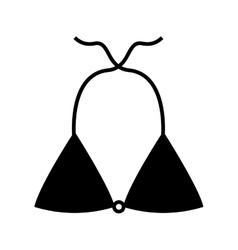 Swinwear female isolated icon vector