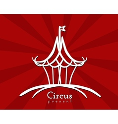 Circus Sign vector image