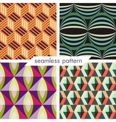 seamless pattern set 8 vector image