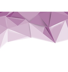 Crystal clear background vector image vector image