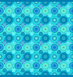 Geometric concentric circle pattern background vector