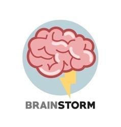 Graphic design brainstorm vector