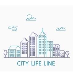 Linear urban vector