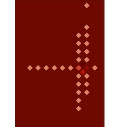Rhombuses vector image