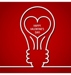 Valentine Outline 1 vector image