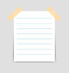 Fixed white square paper and real shadow use for vector