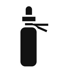 medical spray icon simple style vector image