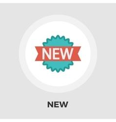 New icon flat vector