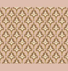 oriental tile ornament abstract geometric retro vector image