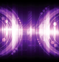 Violet abstract background design vector