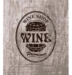 Wine shop vector