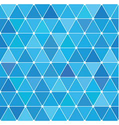 winter triangle pattern 20 vector image