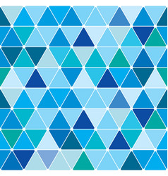 winter triangle pattern 21 vector image