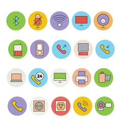 Devices icon 4 vector